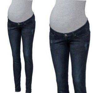 Esmara Maternity Super Skinny Jeans 12 NWT
